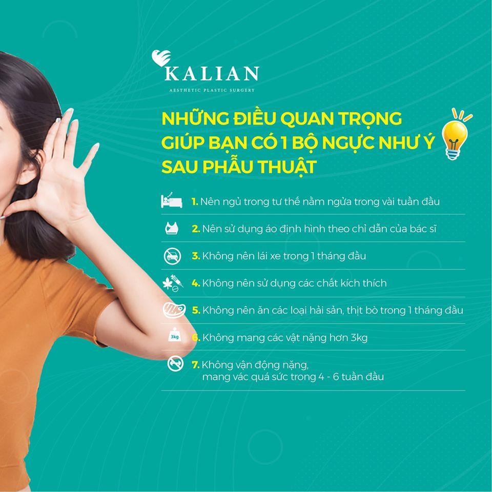 Những yêu cầu của bác sĩ Việt dành cho khách hàng sau khi phẩu thuật thẩm mỹ nâng ngực nội soi